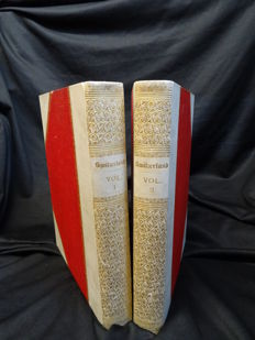 William Beattie - Switzerland Illustrated -  2 volumes -  1836
