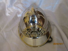 Superb firefighter helmet 1933, complete