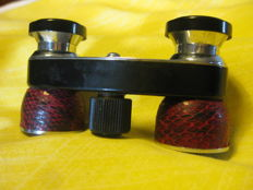 STAR theatre binoculars with leather case - about 1960