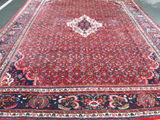 Beautiful Hand-knotted Persian Hamadan rug 417 x 333cm