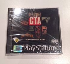 Grand Theft Auto for PlayStation 1 RARE