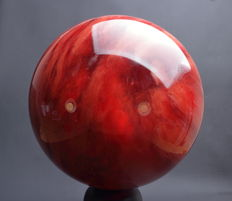 Highest Quality Strawberry Quartz sphere - extra large sphere - 27.30cm - 23.35kg