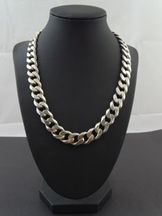 Silver, 925 kt necklace, 48.8 cm