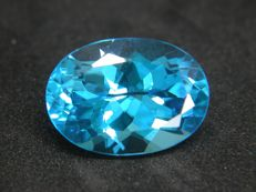 Blue Topaz Swiss - 15.80 ct