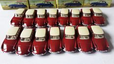 Editions Atlas - Scale 1/43 - Lot with 15 Citroen DS19