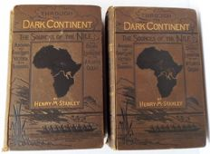 Henry M. Stanley - Through the Dark Continent - Two Volumes - 1878.