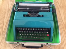 Ettore Sottsass for Olivetti - typewriter model 'studio 45' with original case
