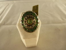 Antique Ring with Emeralds