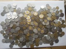 Italian Republic – Lot of 500 coins
