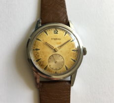 "Eterna Dress watch with ""Tropical"" dial - Men's watch - around the 1950s"