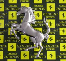 Ferrari emblem - Authentic Ferrari prancing horse in its original packaging