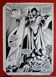 Colan, Gene / McLaughlin, Frank - Original Plate (p. 4) - Wonder Woman 291 - (1982)