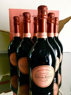 Laurent Perrier Couvee Rosè - 6 bottles (75cl)