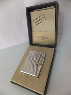 Antique Silver plated  S.T. Dupont Lighter (1950s)
