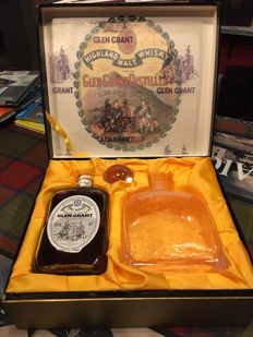 Glen Grant 1980s gift box - 12 years old & decanter