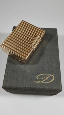S.T. Lighter Gold plated Dupont