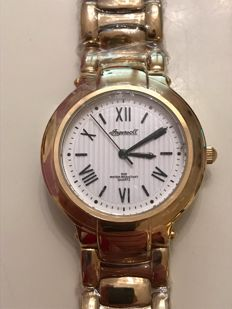 Ingersoll - New line - Gold plated - Exclusive women's watch.