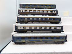 Lima N - 304/305 - 5 Piece set Oriental Express Pullman carriages