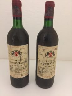 1992 Chateau Malescot-St-Exupery, Margaux - 2 bottles (75 cl)