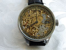9 Omega - Skeleton Men's marriage watch - 1923-1929