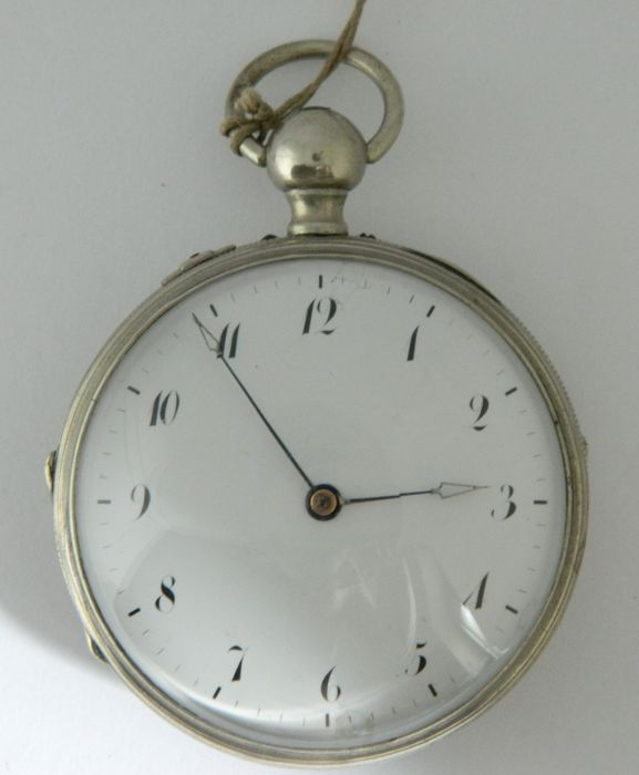 Anonymous — music playing pocket watch — ca 1850