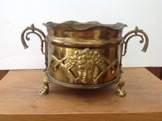 Trench Art - jardiniere made of large obus Polte Magdeburg SP 406 - 1917