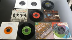 "Beatles - 7"" EP collection from 9 x EP's and 1 x 7"" single from different countries"
