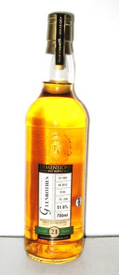 1991 Glenrothes 21 Years Old- Speyside - 70cl. - 51,6% - Duncan-Taylor