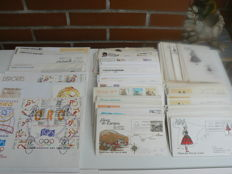 Spain 1963/2003 – Batch of 268 first day envelopes and postcards