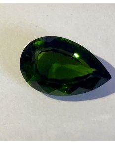 Chrome Tourmaline - Transparent Green - 5.57 ct