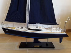 Model of the racing yacht Storm 2 - height 130 cm