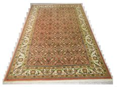 High-quality, hand-knotted oriental carpet - Indo Tabriz - 296 x 194 cm End of the 20th century