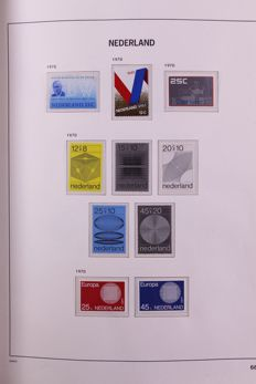 The Netherlands 1970/2001 - Almost complete collection in 2 Davo LX preprint albums