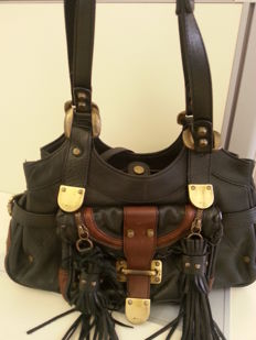 Barbara Bui - Leather bag with double handles.