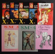 Comic books - Lot of 8 erotic SM comics - 1986/2008