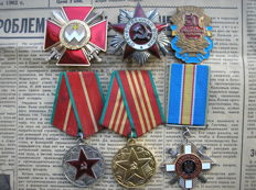 Award of Patriotic War 2 degrees, the Order of Bohdan Khmelnitsky 2 class and the Award For Courage.