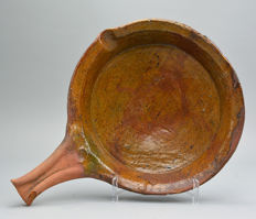 Frying pan - Netherlands - 16/17th century