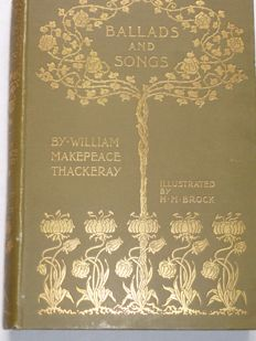 William Makepeace Thackeray -Ballads and songs - 1896