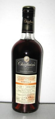 Mortlach 1990 22 Years Old- Speyside - 70cl. - 50,0% - Chieftain's