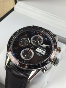 TAG Heuer Carrera Calibre 16 Day Date Chronograph automatic, ref.: CV2A12 – men's watch