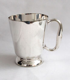 Antique Silver Plated Tankard - Elkington & Co - Early 20th Century