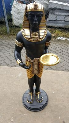Beautiful Egyptian statue - Height is +/-85 cm