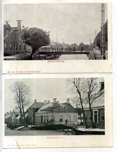 the Netherlands Groningen city and village views 1900-1960 57 x