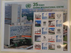 United Nations Vienna 1979/2013 – Extensive collection in 2 Leuchtturm albums