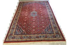 High-quality, hand-knotted oriental carpet - Bidjar - 295 x 195 cm End of the 20th century