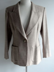 MaxMara - tailored fit jacket - colbert