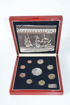 The Netherlands - Year collection 2004 'Muntmeesterset' (Coin master set)