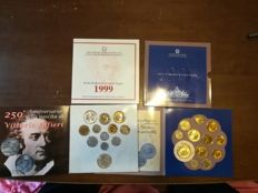 Italy - Divisional series 1997 and 1999 with silver