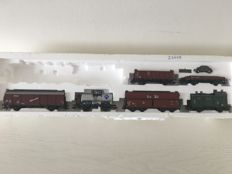 Märklin H0 - From set 29605 - 6 different freight carriages of the DB