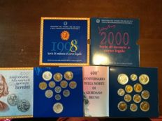 Italy – 1998 and 2000 divisional series with silver